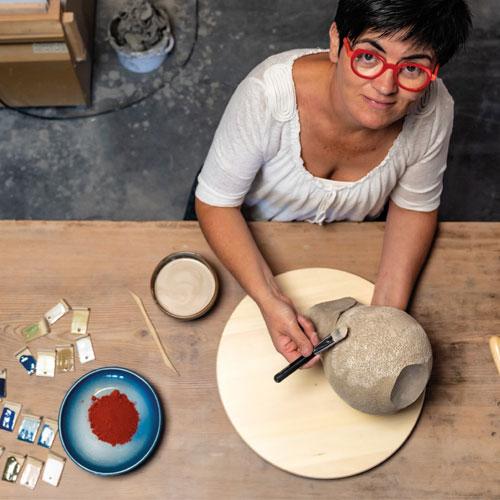 Atelier céramique Angélique Villeneuve