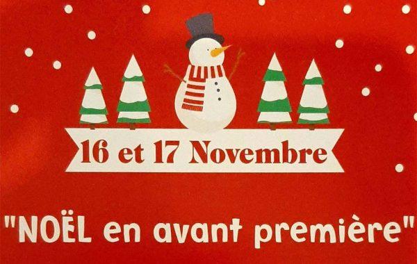 La rue Maréchal Leclerc fête Noël en avant-première!