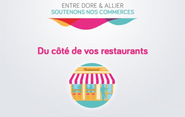 Service de plats à emporter proposé par les restaurateurs / traiteurs