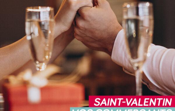 Vos commerçants aux petits soins pour la St Valentin